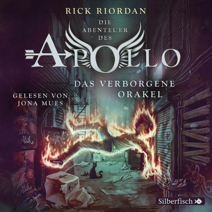 Rick Riordan: Das verborgene Orakel