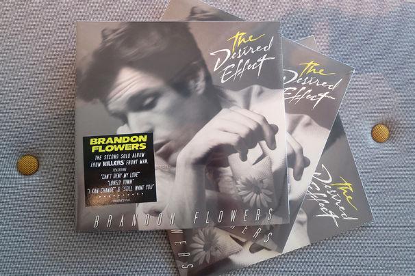 Brandon Flowers, The Desired Effect: Gewinnt eine von drei Vinyl-LPs des Brandon Flowers-Albums