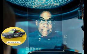 Auf Streife im Netz, Spaced-Out - Herbie Hancocks Kino-Kurzauftritt