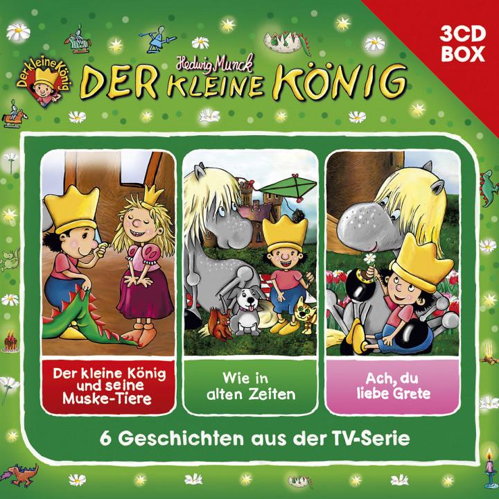 Der kleine König - 3-CD Hörspielbox, Vol. 3