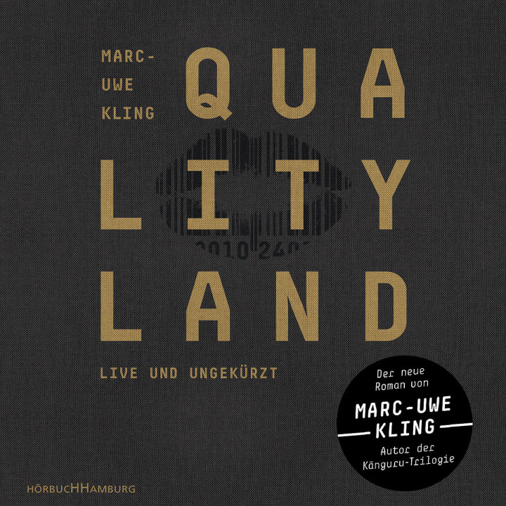 Marc-Uwe Kling: QualityLand (schwarze Edition)