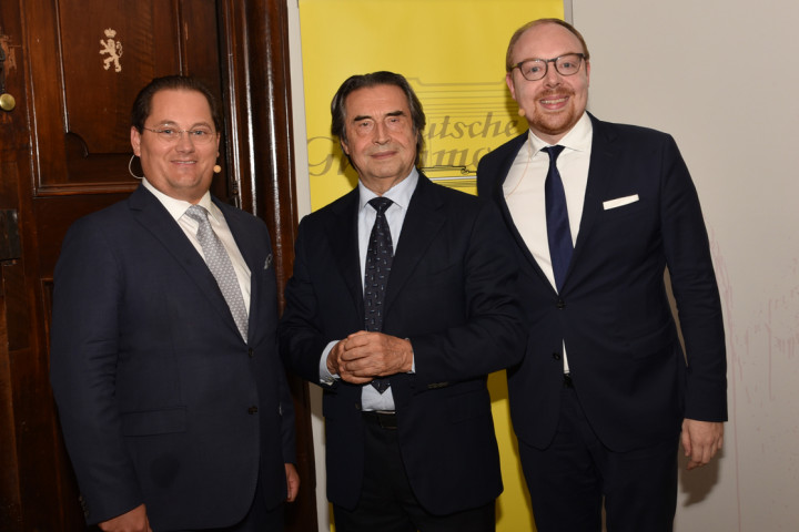 Andreas Großbauer, Riccardo Muti, Clemens Trautmann