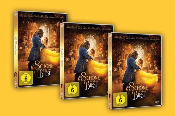 Die Schöne und das Biest, Sei ihr Gast! Die Realverfilmung von Die Schöne und das Biest erscheint auf DVD und Blu-Ray