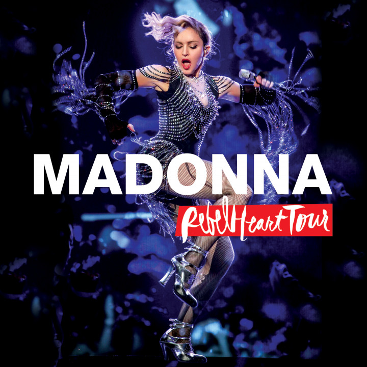 Madonna Rebell Heart Tour - CD