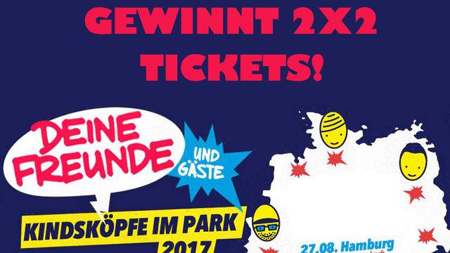 Deine Freunde, Gewinnt Konzerttickets für das ausverkaufte Konzert von Deine Freunde in Hamburg!