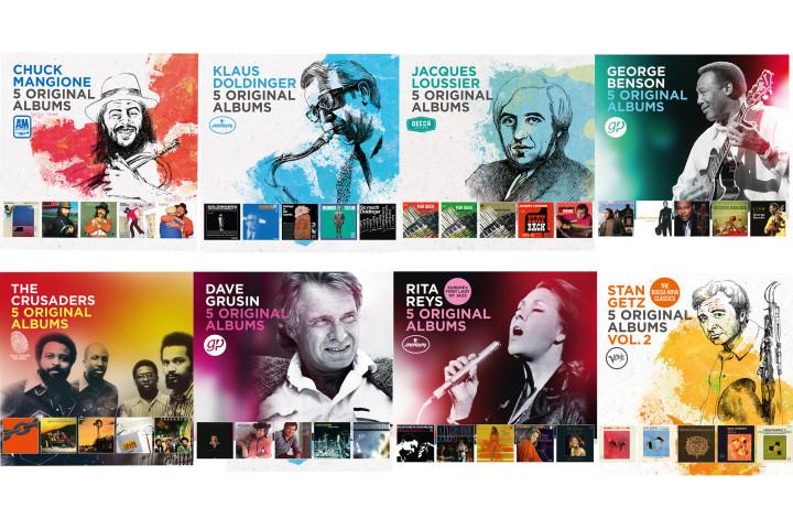 5 Orginial Albums