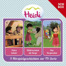 Heidi, Heidi - 3-CD Hörspielbox, Vol. 2 (CGI), 00602557931556