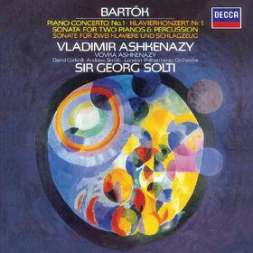 Vladimir Ashkenazy, Bartók: Piano Concerto No.1; Sonata for 2 Pianos & Percussion, 00028948326150
