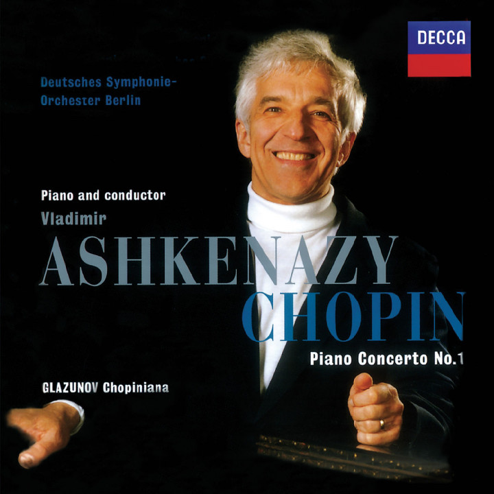 Chopin: Piano Concerto No. 1 / Glazunov: Chopiniana / Franck: Les Dijinns