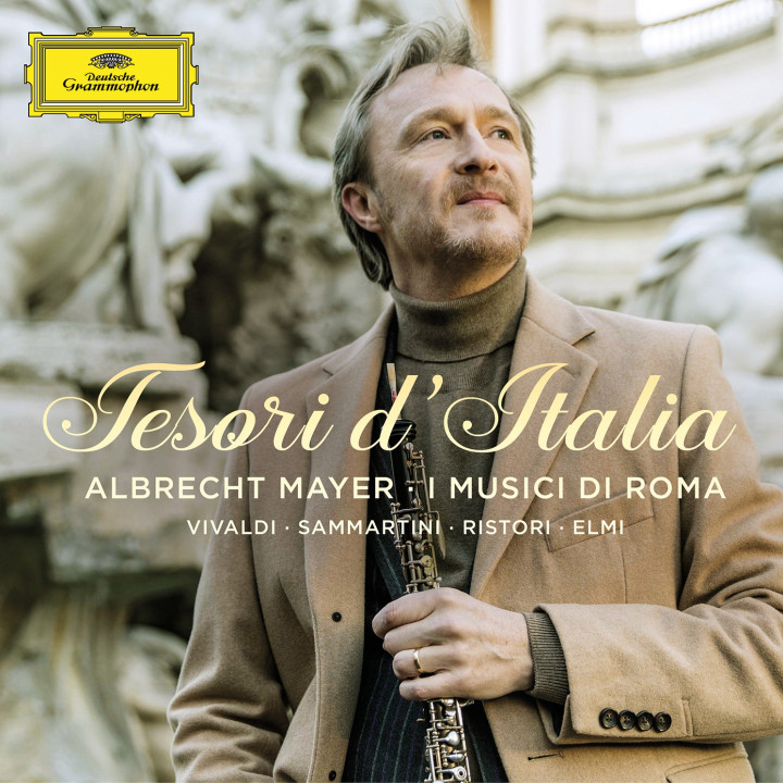 Albrecht Mayer - Tesori d' Italia Cover