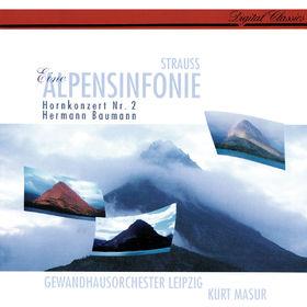 Kurt Masur, Richard Strauss: Eine Alpensinfonie; Horn Concerto No. 2, 00028948301164