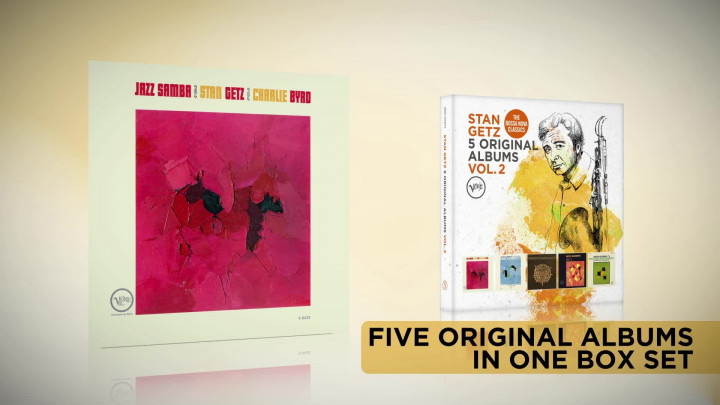 Stan Getz - 5 Original Albums Vol. 2