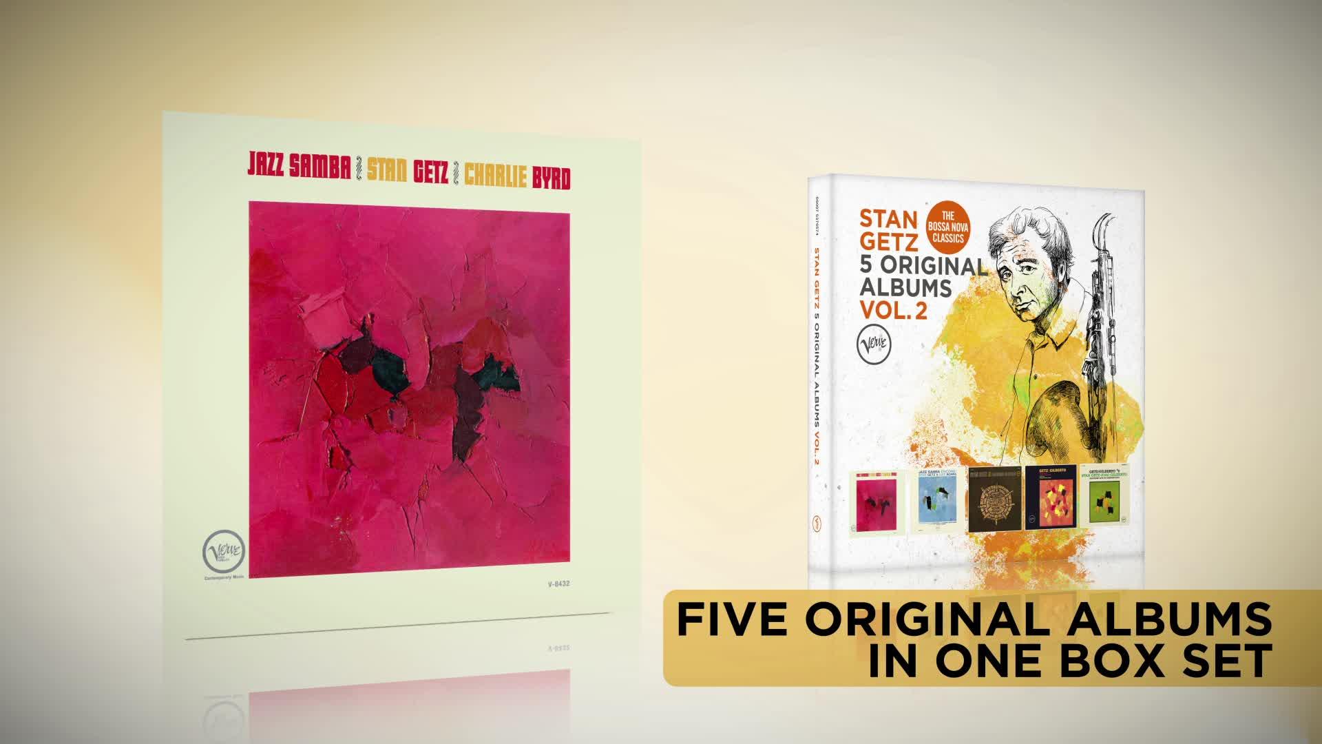 5 Original Albums, Stan Getz - 5 Original Albums Vol. 2