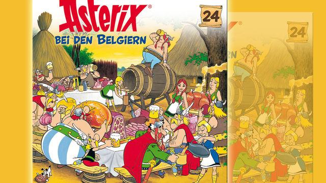 Asterix, Neues von den Galliern: Das 24. Asterix-Hörspiel Asterix bei den Belgiern