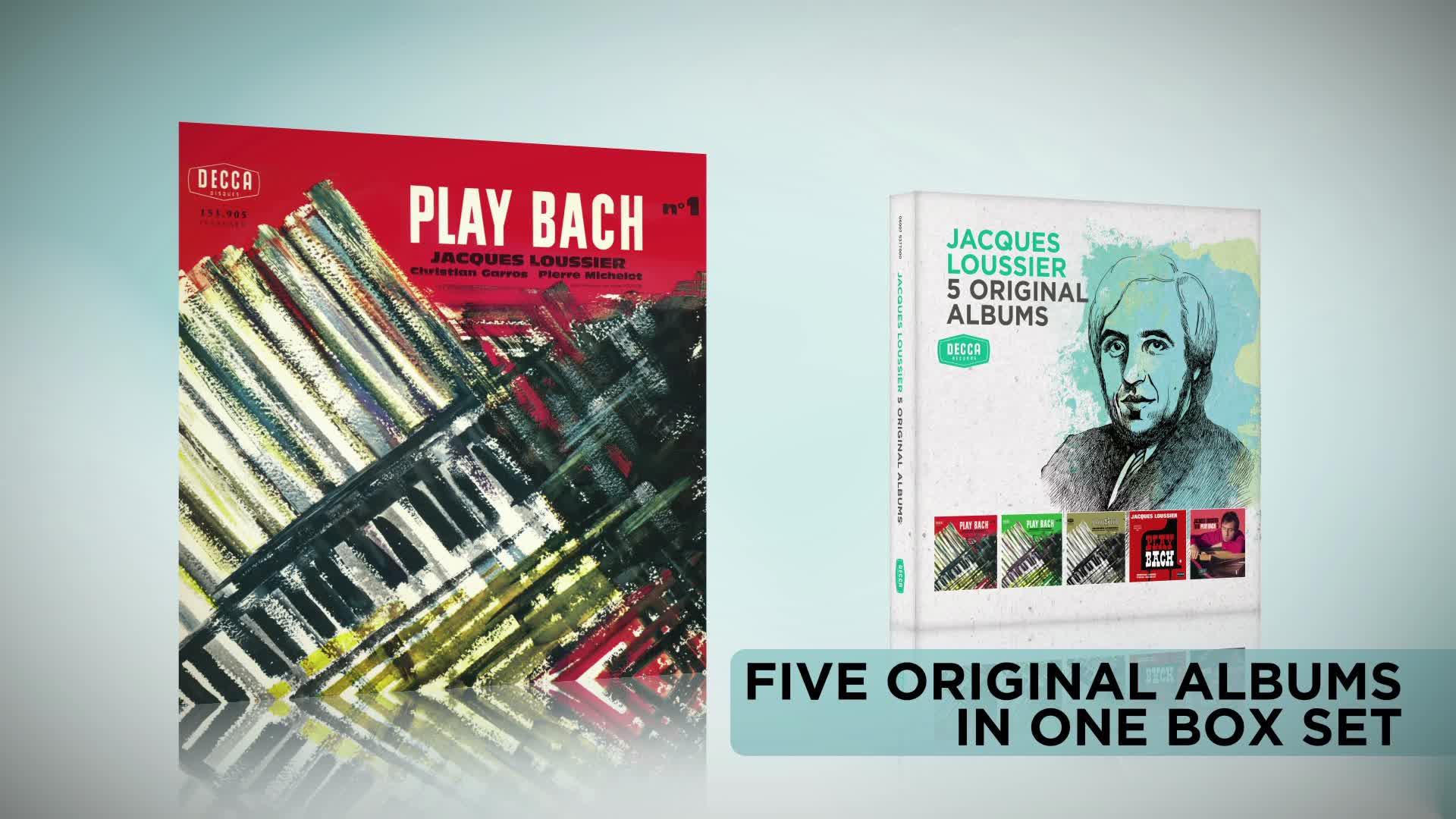 5 Original Albums, Jacques Loussier - 5 Original Albums