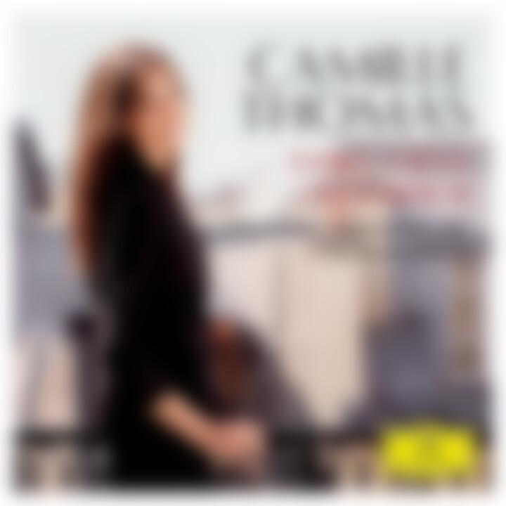 Camille Thomas - Saint-Saens und Offenbach Cover