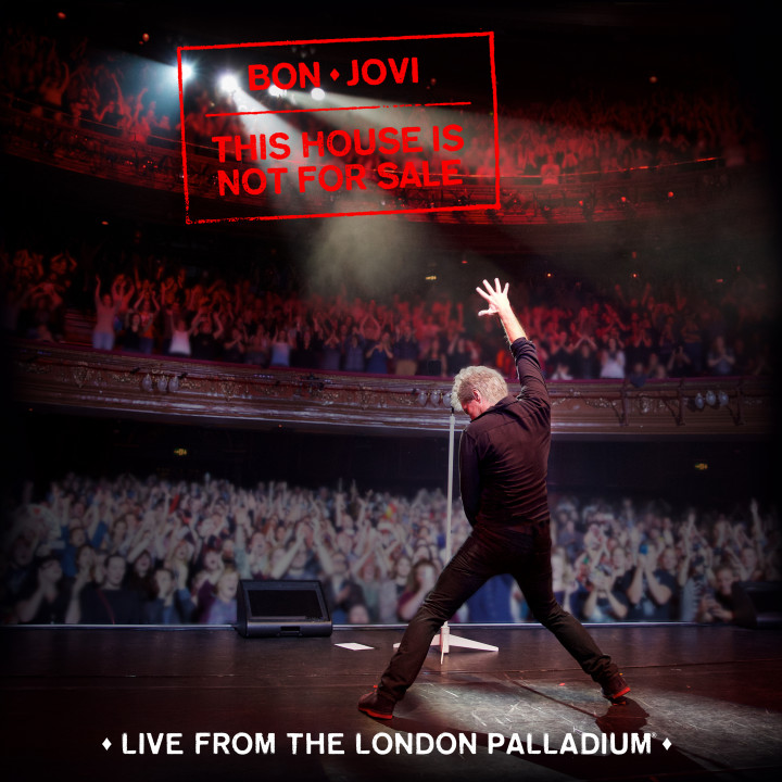 "Bon Jovi This House Is Not For Sale (Live at the Palladium"" COver high resolution"
