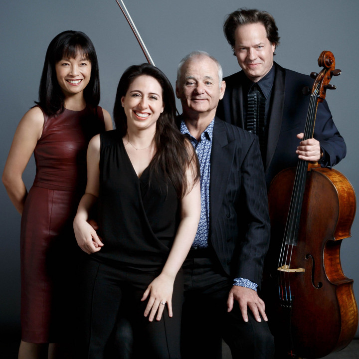 Mira Wang, Vanessa Perez, Bill Murray, Jan Vogler
