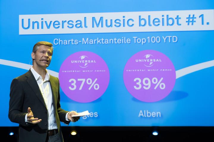 Frank Briegmann, ABBAs Benny Andersson und Hollywood-Legende Bill Murray eröffnen Universal Inside Tagung