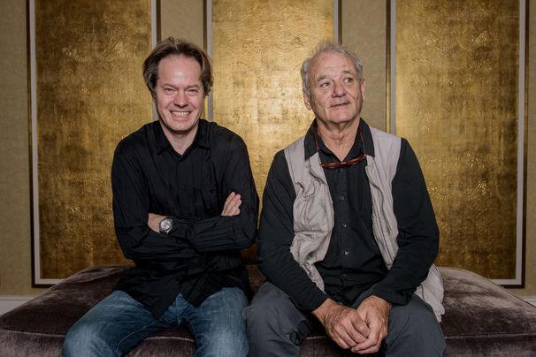 Jan Vogler, Medienrummel - Bill Murray und Jan Vogler präsentieren ihr gemeinsames Projekt New Worlds