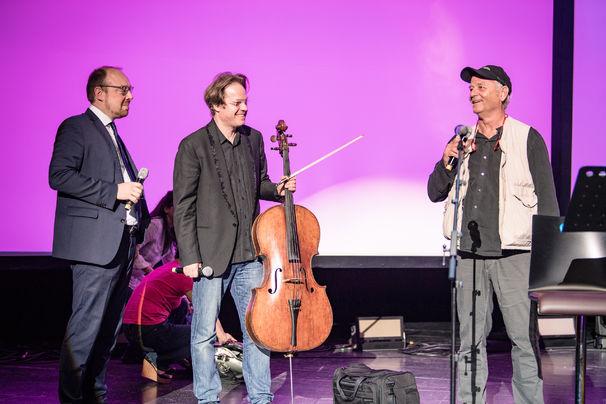 Universal Inside 2017, Künstlerische Weltenbummler - Das Album von Jan Vogler und Bill Murray öffnet musikalische und literarische Horizonte