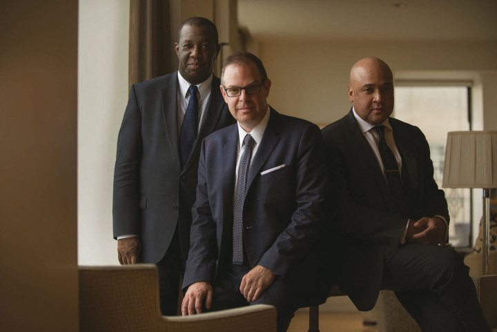 The Bill Charlap Trio by Philippe Levy Stab