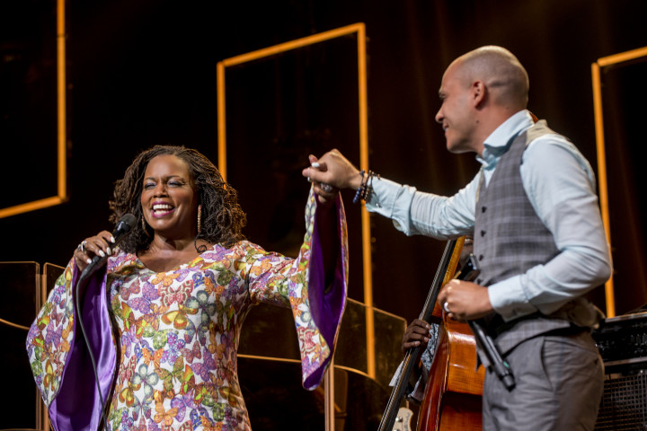 Dianne Reeves by Odasan Macovich