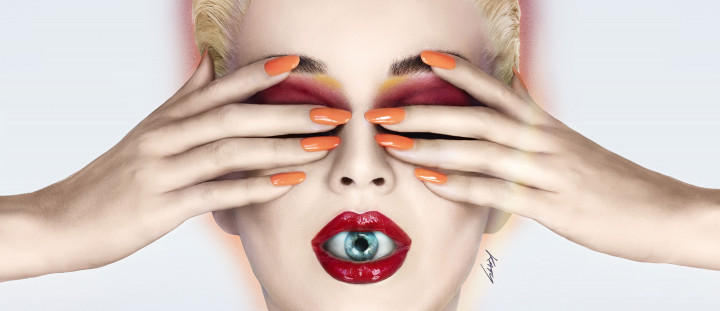 Katy Perry 2017 Witness Cover