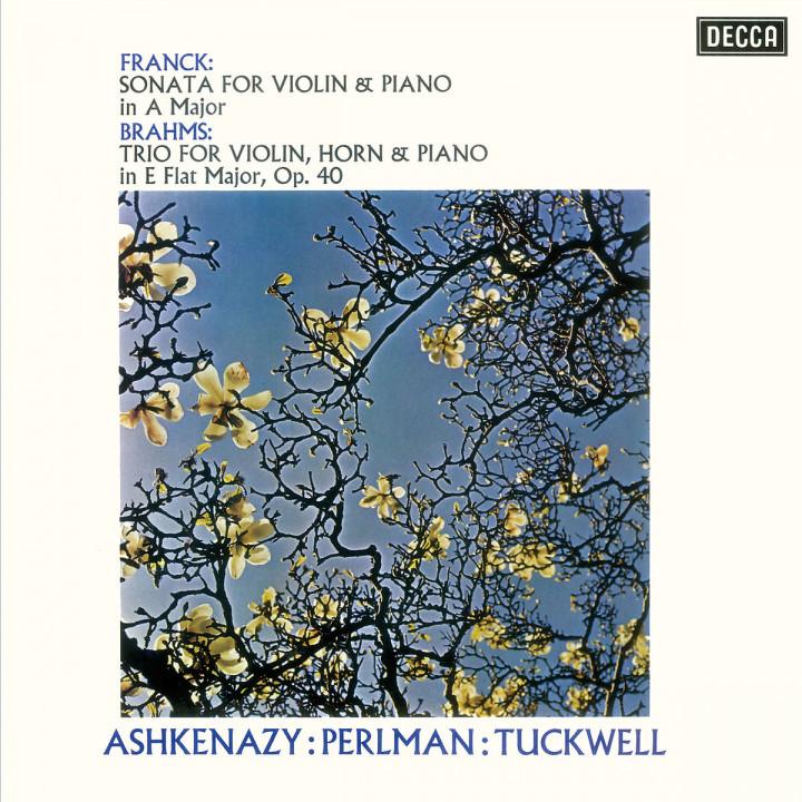 Franck: Violin Sonata / Brahms: Horn Trio
