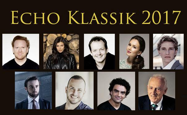 ECHO Klassik - Deutscher Musikpreis, ZDF verkündet auftretende Künstler beim ECHO Klassik 2017