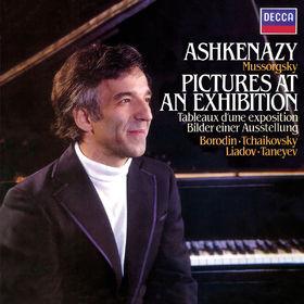 Vladimir Ashkenazy, Mussorgsky: Pictures at an Exhibition / Tchaikovsky: Dumka / Taneyev: Prelude & Fugue / Liadov: A Musical Snuff-Box / Borodin: Scherzo, 00028948328925