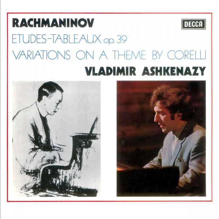 Rachmaninov: Corelli Variations; Etudes-Tableaux, Op.39