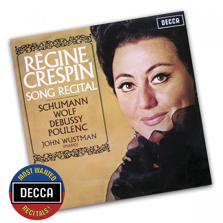 Song Recital - Schumann, Wolf, Debussy, Poulenc