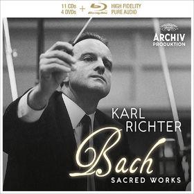 Karl Richter, J.S. Bach - Sacred Works Deluxe, 00028947977889