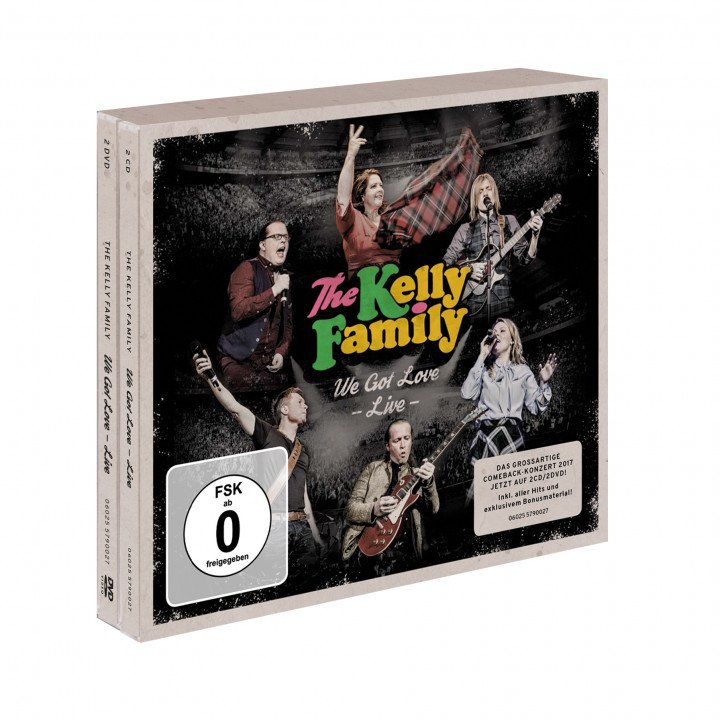 the kelly family - we got love live -2cd2dvd RGB