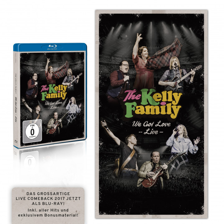 the kelly family - we got love live - bluray rgb