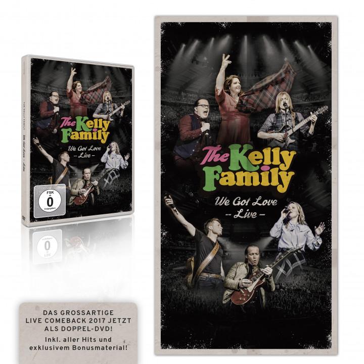 the kelly family - we got love live - 2DVD RGB