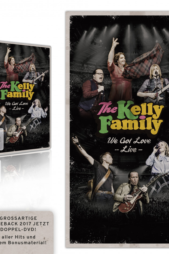 the kelly family - we got love live - 2DVD RGB