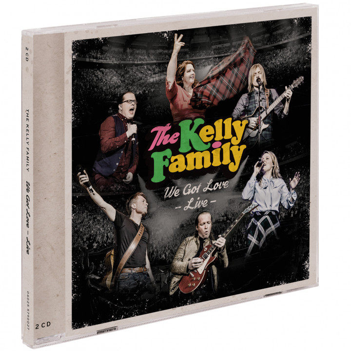 the kelly family - we got love live -2cd RGB