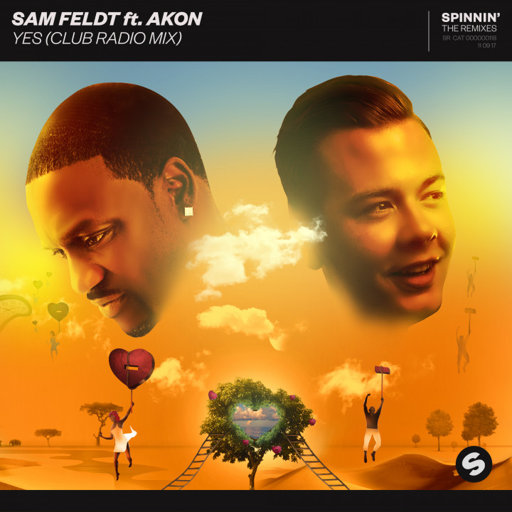 Sam Feldt feat. Akon YES (Club Radio Remix)