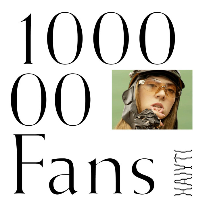 Haiyti Cover 100.000 Fans