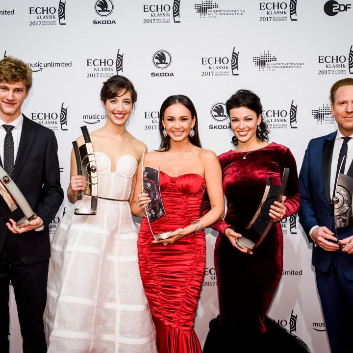 Jan Lisiecki, Camille Thomas, Aida Garifullina, Ksenija Sidorova, Daniel Hope