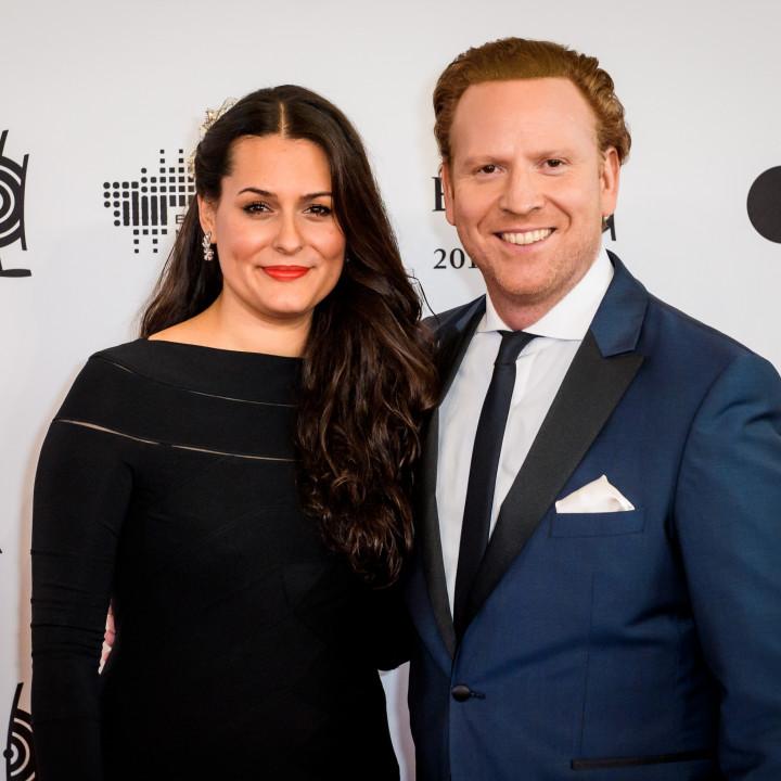 Daniel Hope mit Ehefrau Silvana