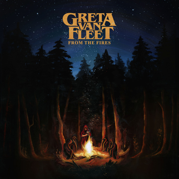 Greta Van Fleet From The Fires Cover