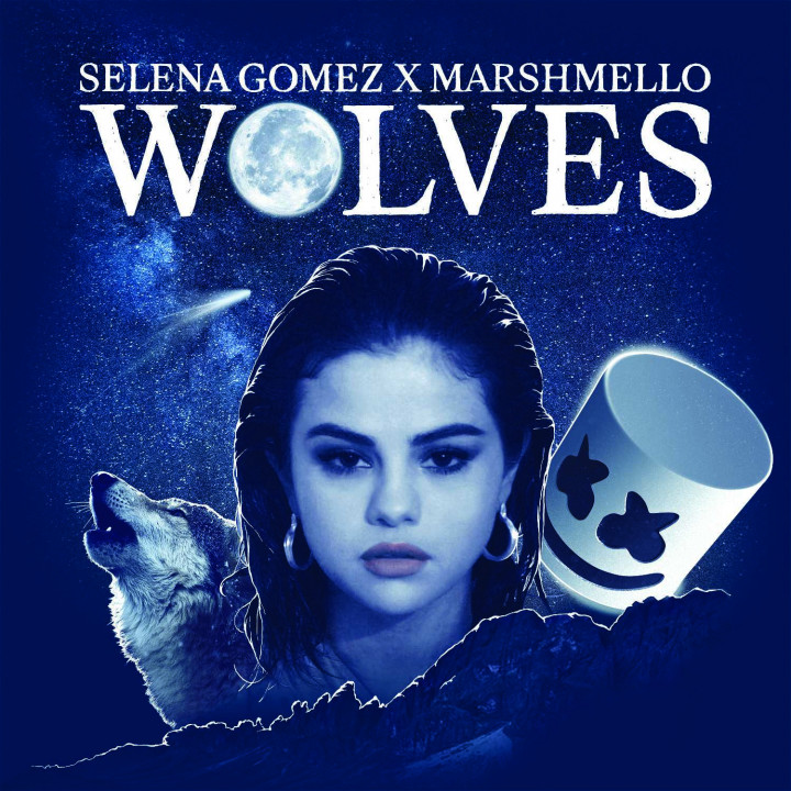Selena Gomez Wolves Cover