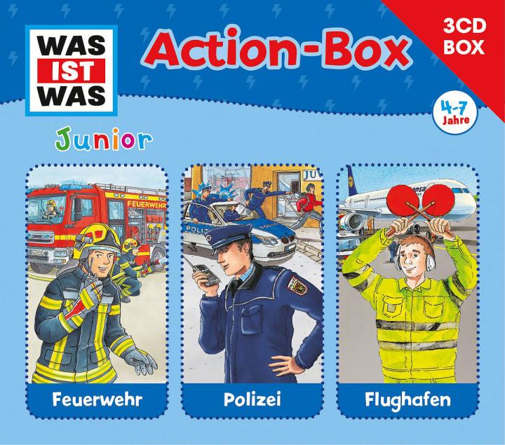 Was Ist Was Junior -  3-CD Hörspielbox - Actionbox