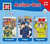 3-CD Hörspiel- und Liederboxen, 3-CD Hörspielbox – Actionbox