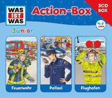 Was ist Was Junior, 3-CD Hörspielbox – Actionbox, 09783788670276