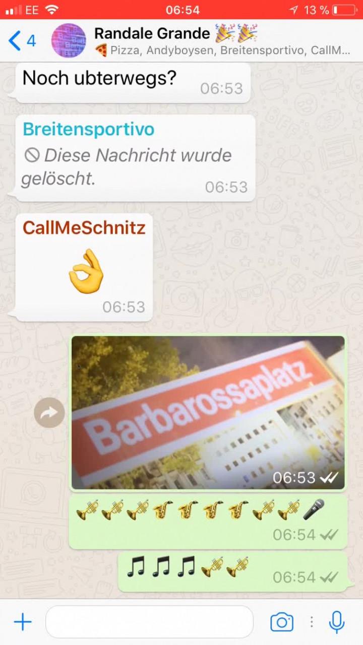 Guten Morgen Barbarossaplatz (Lyric Video)