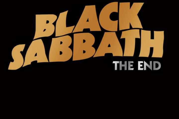 Black Sabbath - The End Logo Gold